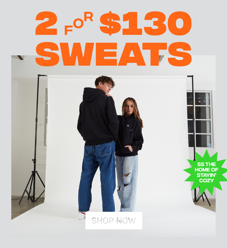 2 for $130 Sweats