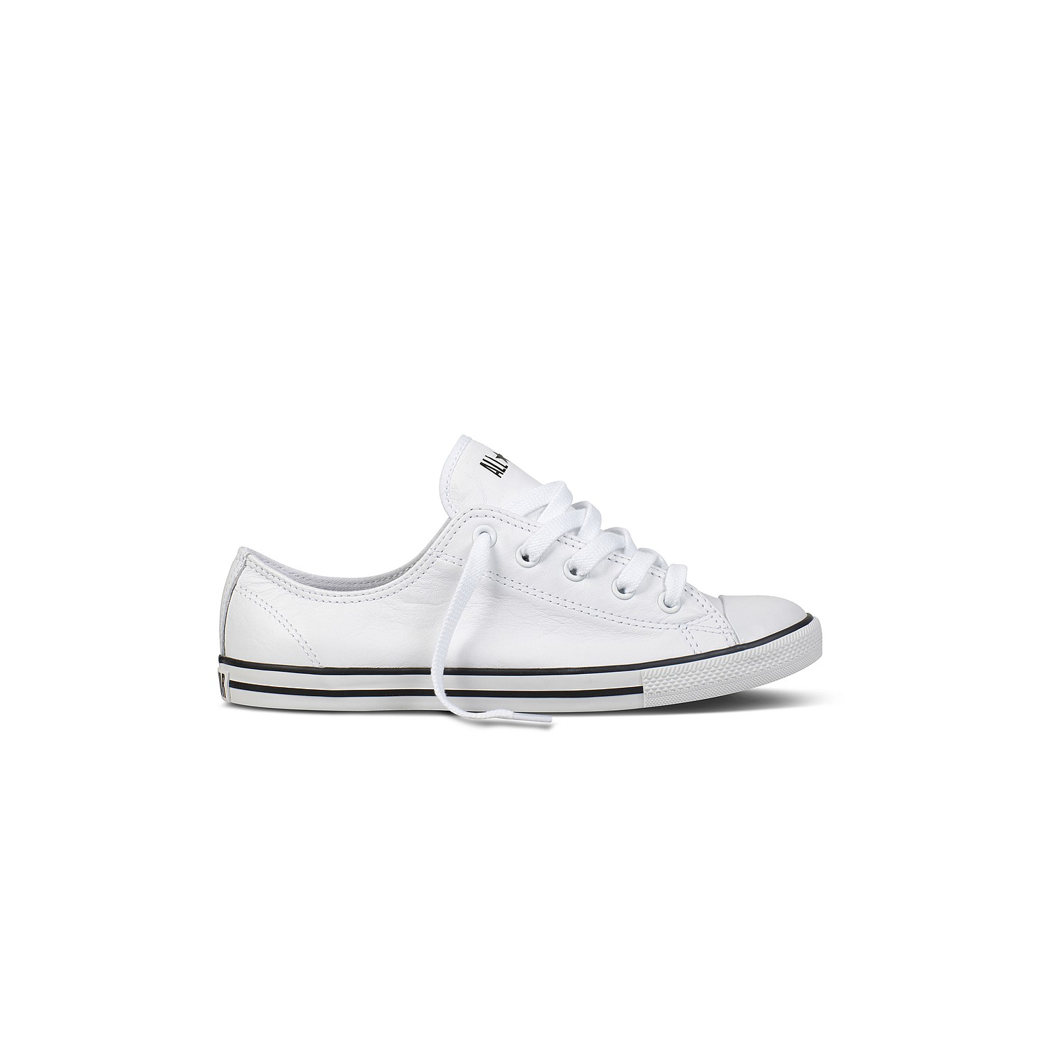 Chuck Taylor All Star Dainty Leather ... fc79be107