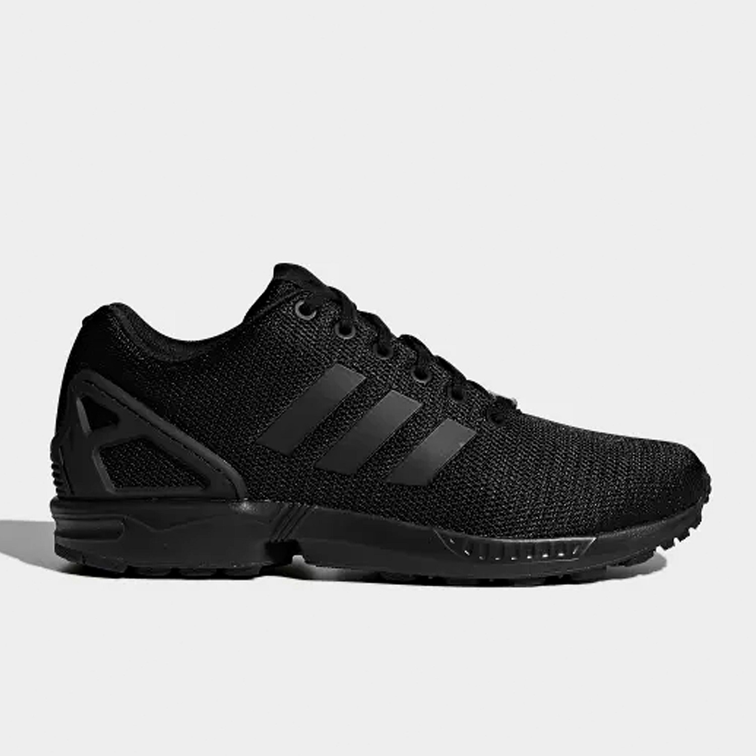 hot sale online 19556 c1657 The possibilities are endless with the modern, minimalist style of the ZX  Flux. This monochrome version of the streamlined shoes is built in sport  mesh with ...
