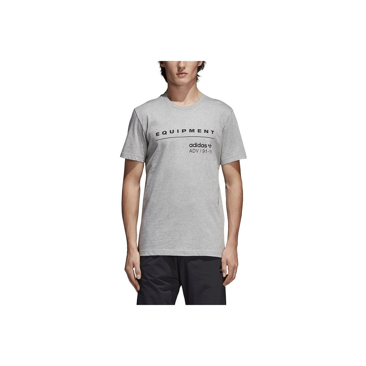 size 40 aa04f 7e564 This mens t-shirt features the iconic Equipment logo on the front chest,  while a small ADV badge pops above a hem. The athletic cut in all cotton  looks ...