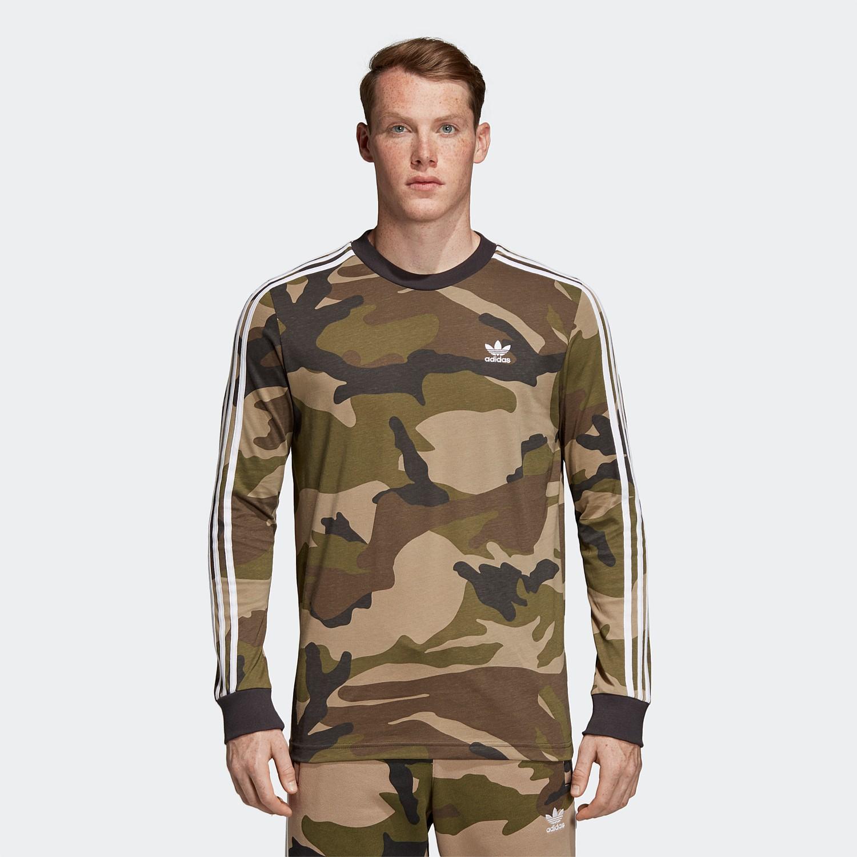 82e8e2a0 Camouflage Long Sleeve Tee