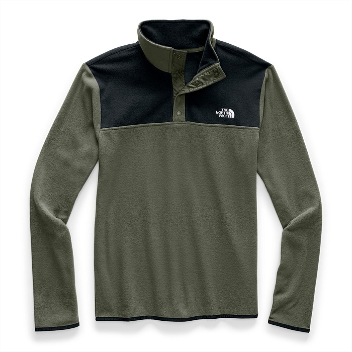 TKA Glacier Snap-Neck Fleece Pullover