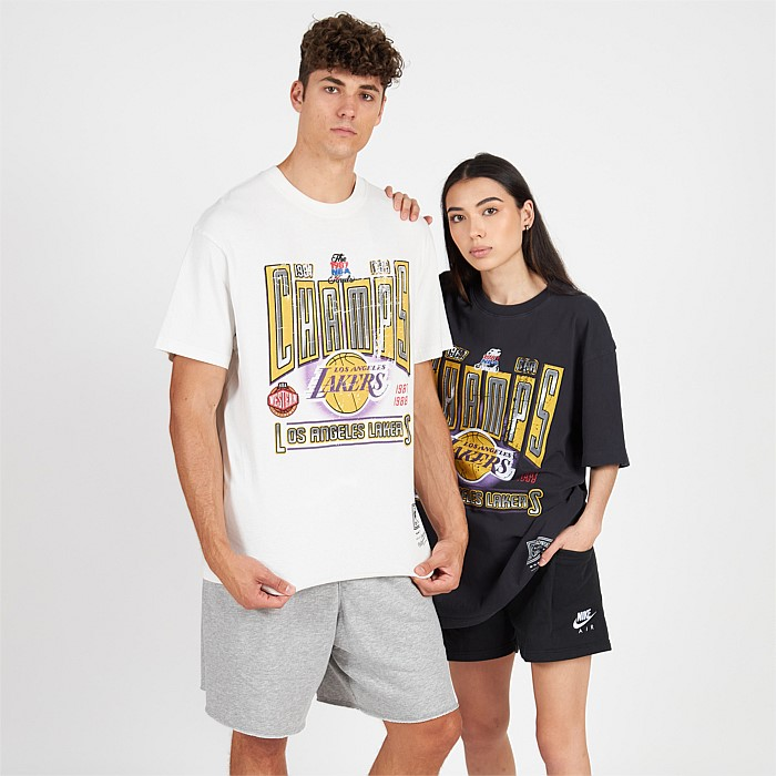 Los Angeles Lakers Vintage Winner Takes All Tee Unisex