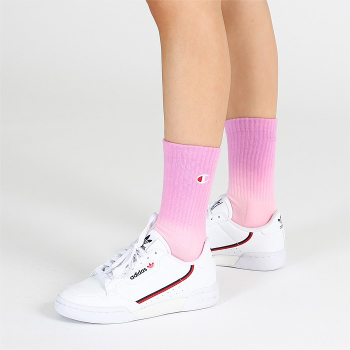 Ombre Crew Socks 2 Pack