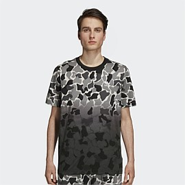 Camouflage Dip-Dyed T-Shirt