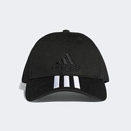 Six-Panel Classic 3-Stripe Cap