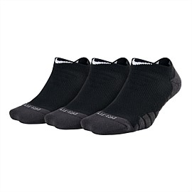Dry Cushion No Show Training Sock (3 Pair)