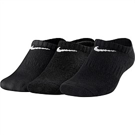 Cushioned No-Show Training Socks Kids