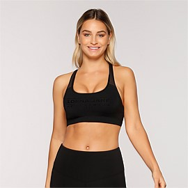 Racer Longer Line Sports Bra