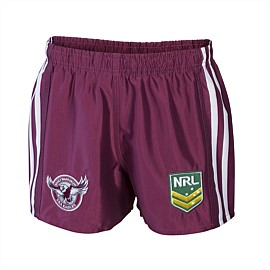 NRL Sea Eagles Supporter Shorts Youth