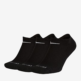 Performance Cushion No Show Socks Unisex 3 Pack