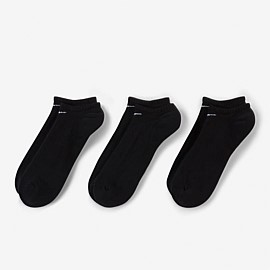 Everyday Cushion No-Show Socks 3 Pack Unisex