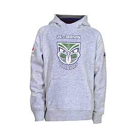 2019 Vodafone Warriors 25th Season Raglan Hoodie Kids