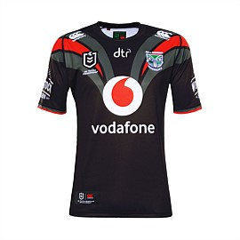 2019 Vodafone Warriors On Field Away Jersey
