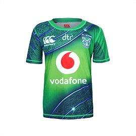 2019 Vodafone Warriors Training Drill Top Kids