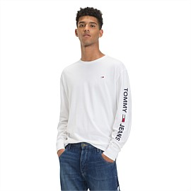 Essential Long Sleeve Logo Tee