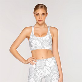 Bandana Chic Sports Bra