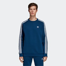 3-Stripes Crewneck Sweatshirt