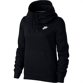 Sportswear Funnel-Neck Fleece Hoodie