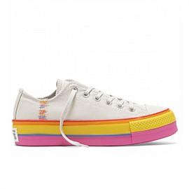 Chuck Taylor All Star Rainbow Lift Low Womens