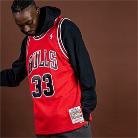 Chicago Bulls NBA Swingman Jersey Pippen 97-98