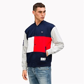 US Colourblock Baseball Jacket