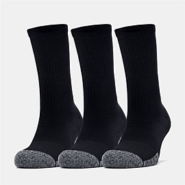 Heatgear Unisex Crew Sock 3 Pack