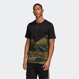 Camouflage Block T-Shirt