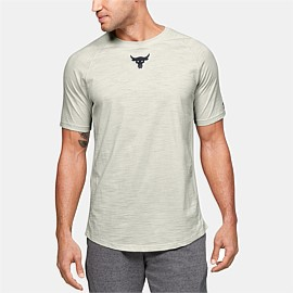 Project Rock Charged Cotton Short Sleeve T-Shirt