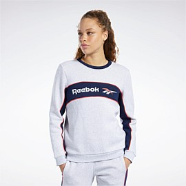 Classics Linear Fleece Crew Sweatshirt