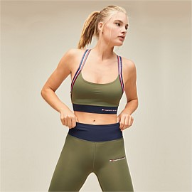 Logo Tape Sports Bra