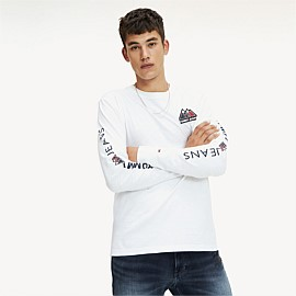 USA Mountain Logo Long Sleeve Tee