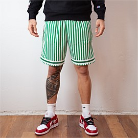 NBA Striped Swingman Shorts Celtics 85