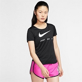 Swoosh Short Sleeve Running Top
