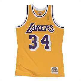 Los Angeles Lakers NBA Swingman Jersey O'Neal 96-97