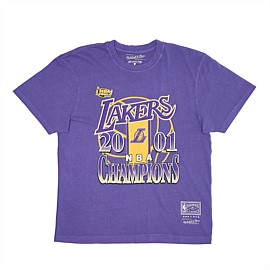 Los Angeles Lakers Vintage Champs Tee Unisex