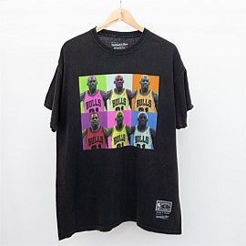 Dennis Rodman Colour Block Short Sleeve Tee
