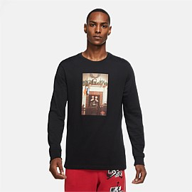 Jordan Jumpman Chimney Long Sleeve T-Shirt