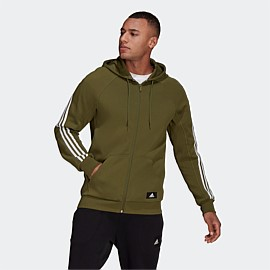 Sportswear 3-Stripes Hooded Track Top