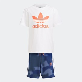 Camo Print Shorts and Tee Set Kids