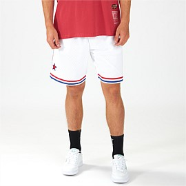 1985 NBA All-Star Swingman East White Shorts