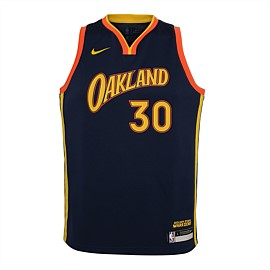 Golden State Warriors City Edition Swingman Jersey Youth - Curry