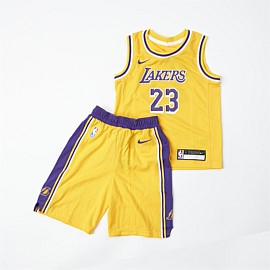 Los Angeles Lakers Replica Box Set Kids