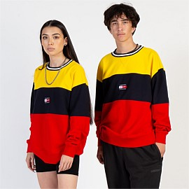Street Archives Colour-Blocked Sweatshirt Unisex
