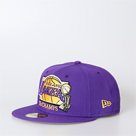 5950 Los Angeles Lakers 17x Champs Cap